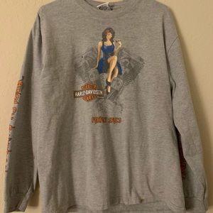 Harley Davidson long sleeve T-shirt size large